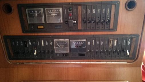 Orignal panels which were a little frail
