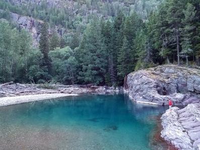 Clear beautiful water!