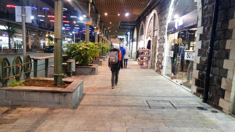 Exploring the streets of Tiberias