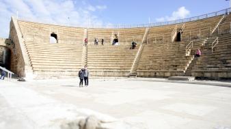 Roman theatre near Herods palace
