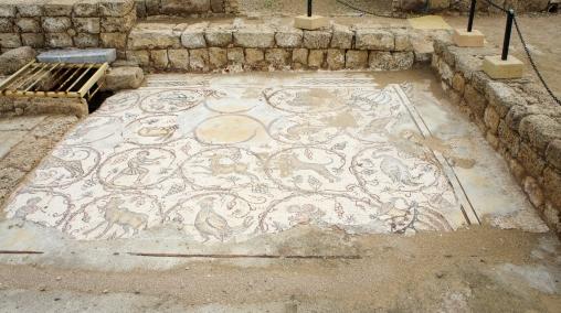 Beautiful mosaics were everywhere