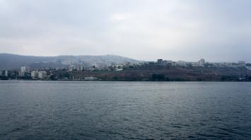 Looking at Tiberias