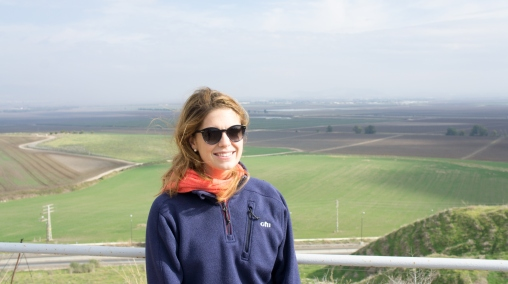 View of the Valley of Armageddon from Mount Megiddo.