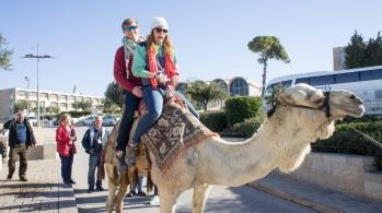 Camel ride!