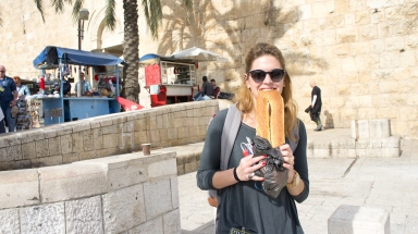 The bread is amazing in Israel.
