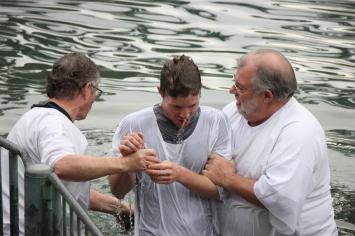 Baptized!