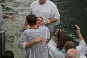 Baptized! Photo: Mr Jim and Mrs. Nancy